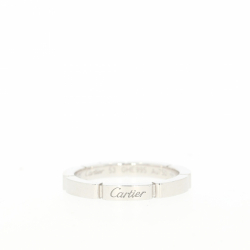 Cartier ring in 18K white gold.