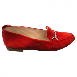 Navyboot Red suede moccasins
