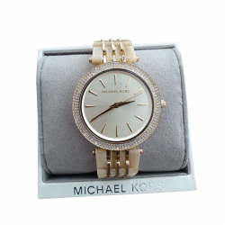 Michael Kors MK4325 Darci Crystal GoldStainless steal and Acetate Watch