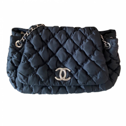 Chanel Bubble quilted  Single Flap Bag