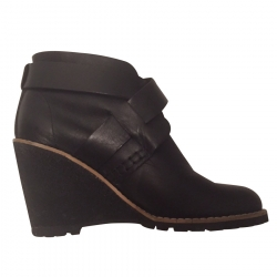 See By Chloé Wedge Ankle Boots