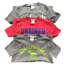Abercrombie & Fitch 3 T-Shirt Set