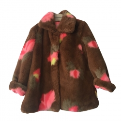 Billieblush Faux Fur Coat