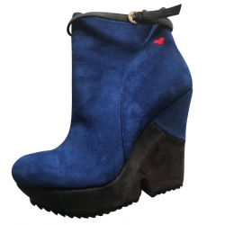Moschino Love Wedge Ankle Boots