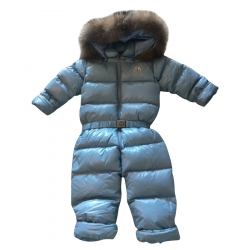 Moncler Ski Suit with Fur