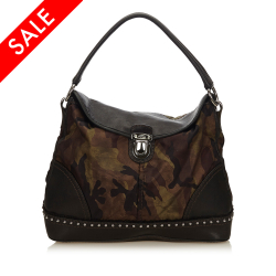 Prada ON SALE!!! Nylon Camouflage Handbag