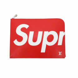 Louis Vuitton X Supreme Clutch Jour GM