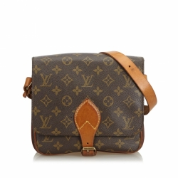 Louis Vuitton Monogram Cartouchiere MM