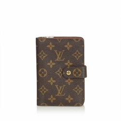 Louis Vuitton Monogram Porto Papier Zip
