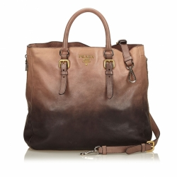 Prada Ombre Leather Satchel