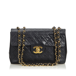 Chanel Classic Maxi Lambskin Leather Single Flap Bag