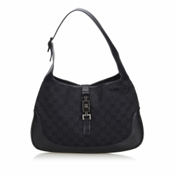 Gucci ssima Canvas Jackie Shoulder Bag