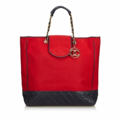 Chanel Cotton Tote Bag