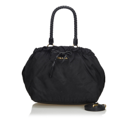 Prada ON SALE!!! Nylon Drawstring Satchel