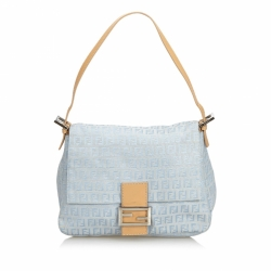 Fendi Zucchino Mamma Forever Shoulder Bag