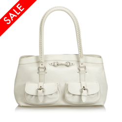Christian Dior Leather Shoulder Bag