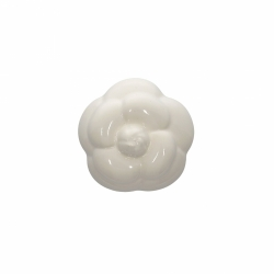 Chanel Ceramic Camelia White Paper Weight