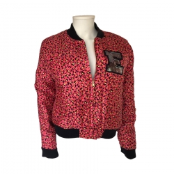 Essentiel Antwerp Flowered silk jacket