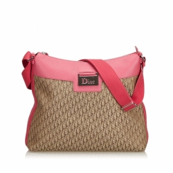 Christian Dior Oblique Canvas Crossbody Bag
