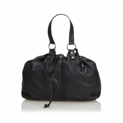 Yves Saint Laurent Leather Double Sac Tote