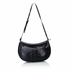 Fendi Python Leather Hobo Bag