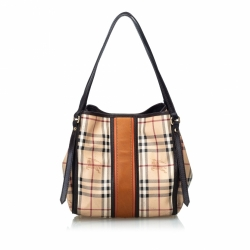 Burberry Haymarket Canterbury Tote Bag