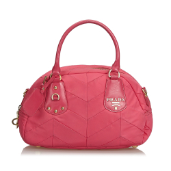 Prada Quilted Nylon Handbag