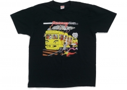 Supreme Limonious Punany Train Navy Tee