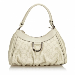 Gucci ssima Leather Abbey D-Ring Handbag