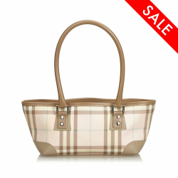 Burberry Candy Check Handbag