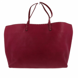 Fendi Selleria tote in fuchsia leather