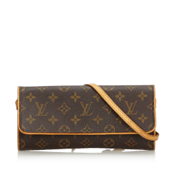 Louis Vuitton Monogram Pochette Twin GM