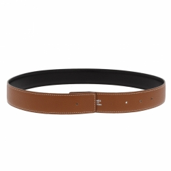 Hermès Hermes leather belt without buckle.