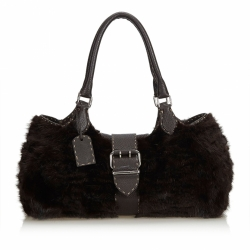 Fendi Selleria Fur Shoulder Bag