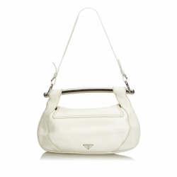 Prada Leather Bar Shoulder Bag
