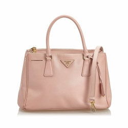 Prada Saffiano Leather Galleria Satchel