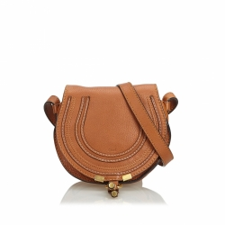 Chloé Leather Marcie Crossbody Bag