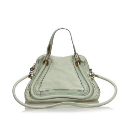 Chloé Leather Paraty Satchel
