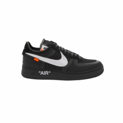 Nike The 10 Air Force 1 Low Black / White-Cone-Black