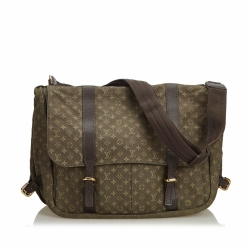 Louis Vuitton Monogram Mini Lin Sac Maman