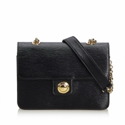 Chloé Leather Chain Crossbody Bag