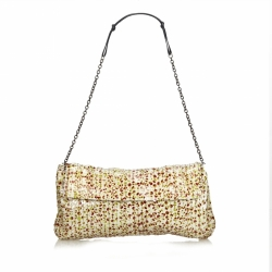 Prada Sequined Shoulder Bag