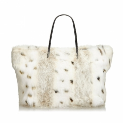Fendi Fur Tote Bag