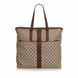 Gucci GG Jacquard Travel Bag