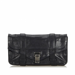Proenza Schouler Leather PS1 Pochette Clutch