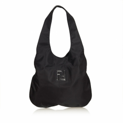Fendi Nylon Hobo Bag