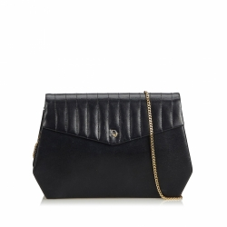 Christian Dior Leather Chain Crossbody Bag