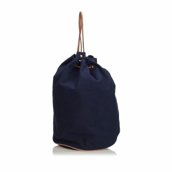 Hermès Canvas Polochon Mimile Backpack