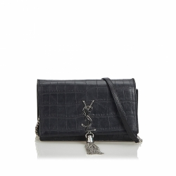 Yves Saint Laurent Small Embossed Leather Kate