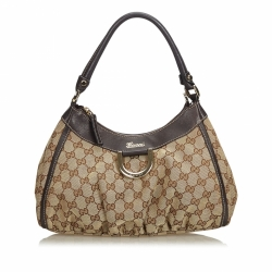 Gucci GG Canvas Abbey D-Ring Handbag